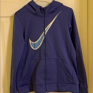purple nike jacket